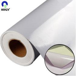 1.07*50m 120GSM 차 바디 스티커를 위한 백색 자동 접착 PVC 비닐