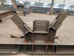 La estructura de acero de alta calidad de fabricación de edificio con bajo coste