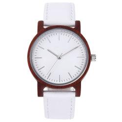 Legno minimalista Moda semplici Donne Unisex mano giapponese movimento orologio
