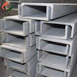 2 pouce carré creux de haute qualité à bas prix de l'acier galvanisé de canal trois C Canal d'acier à fente latérale