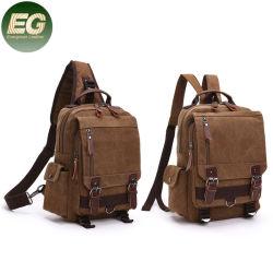 SA53人の女性のCrossbodyの肩の箱のDaypack旅行リュックサックのキャンバスのバックパックのためのバックパックをハイキングする屋外の吊り鎖袋