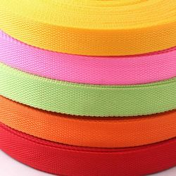 Stock Soft durables 20mm PP polypropylène sangle polyester