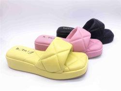 PU клин пятки моды сандалии
