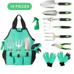 Jeu d'outils à main de jardin avec sac fourre-tout