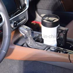 Coche de plástico de 750ml tetera calefacción coche Travel Mug taza taza de café de coche más cálido con cargador DC 12V
