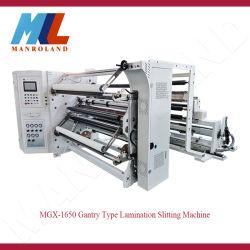 Mgx-1650 el papel de aluminio, etiqueta adhesiva, Film Stretch, el papel térmico Pórtico Slitter.