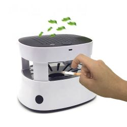De navulbare Deodorant van het Metaal van de Luxe van de Zuiveringsinstallatie van de Lucht van de Aansteker van het Asbakje Rookloze