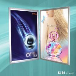 사진 프레임 LED 메뉴 스냅 프레임 슬림 라이트 박스(SL-01)