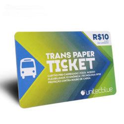 Pezzi / pacchetto piegato ISO14443A HF MIFARE Ultralight EV1 NFC Carta biglietti Smart Card RFID