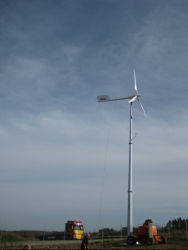 Grid System Completely Solution Plan에 10kw Wind Power Generator