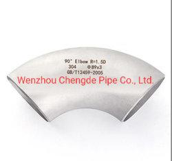 Raccords de la main courante en acier inoxydable 180 Degré Bar connecteur communePrix de gros de coude Cdpt1185