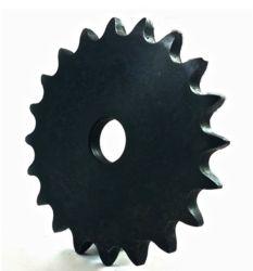 El doble de piñones de la cadena de tono para el juego de motos de la placa de ANSI el cubo con la cavidad de stock de dientes métrica ligero Speed Bike Scooter eléctrico de transportador de rueda libre la rueda dentada