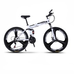 OEM 20 / 24 / 26 / 27.5 / 29인치 21단 자전거 탄소강 / 알루미늄 합금 접이식 산 자전거