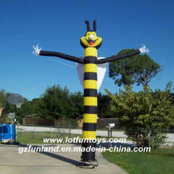 Inflatablesの広告: 蜂の空気ダンサー、Promotionskyのダンスの管