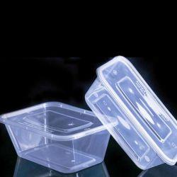 500/650/700/1000ml 투명한 과일 사라다 음식 저장 상자는 콘테이너를 밖으로 취한다