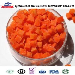 Individuales de mejor venta de vegetales congelados rápidamente Vietnam dados de zanahoria congelada