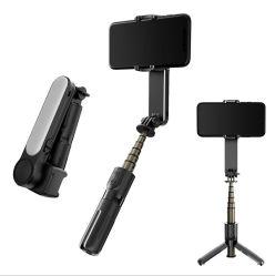 شريحة ذاتية مرنة مزودة بتقنية Bluetooth® ثلاثية القوائم 3 في 1 Mini 360 عصا الصورة الذاتية عصا الصورة التلسكوبية اليد ضوء ملء الصورة الذاتية