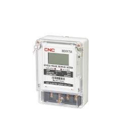 CNC Ddsy726 enkelfasige elektronische LCD-display met DIN-rail Energiemeter