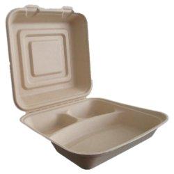 متعدّد حجم [كمبوستبل] مستهلكة محارة [لوش] صندوق صندوق محمول, [تو-غو] طعام صندوق