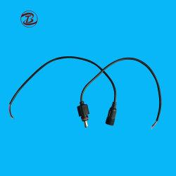 AC/DC 2.1 mm X 5.5 mm オス、メス DC 電源プラグ