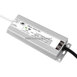 60 Watts Universal à prova de grau IP66 12V 5um transformador de condutor LED 24V 2,5A a luz do LED no modo de comutação DC Fonte de alimentação do adaptador CA com UL GS marcação