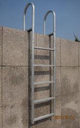 Dock de l'échelle en aluminium