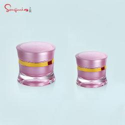 يفرج [15غ] [20غ] [30غ] [20مل] بلاستيكيّة أكريليكيّ [كرم] مرطبان وزجاجة مجموعة