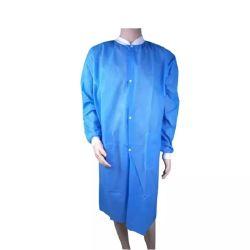 SMS-Lab покрыть PP без тканого Lab нанесите на для Мужчины Женщины с тремя карманами