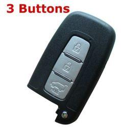 بالنسبة لشركة هيونداي 3 Buttons Smart Card Shell