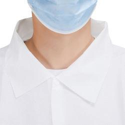使い捨て可能な防護衣の安全使い捨て可能な隔離のガウンの実験室のコート
