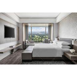 Hôtel contemporain de luxe personnalisé Hilton chambre à coucher Mobilier définie pour un hôtel 5 étoiles