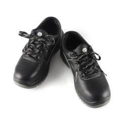 Soldadura de couro Calçado de protecção no trabalho Anti-Smash respirável e Anti-Puncture homens verão da cabeça de aço com sapatos de trabalho