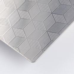 Hongwang 6Wl 8Wl 201 304 316 en acier inoxydable 316L en acier inoxydable gaufré feuille couleur décorative pour la vente de la plaque de couleur