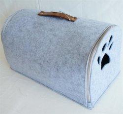 Handgemachtes Felted Wolle-Haustier-Katze-Bett - umweltfreundlich