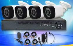 4CH CCTV 카메라 시스템 팩토리 P2P AHD 보안 DVR 키트