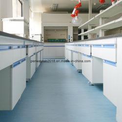 Laboratorio de Química Estructura de la suspensión de acero y madera Mobiliario de laboratorio