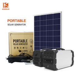 Home/Exterior 400W Sistema de Energía Solar Energía Solar Kit de alimentación con 97200mAh batería de litio