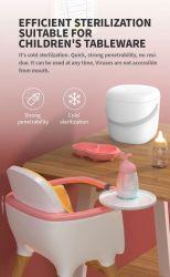 Viaje de luz LED higienizador Celular trapo de ropa interior de la luz de la caja esterilizador UVC Tote Bag de desinfección de la madre