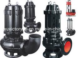 Bomba Eléctrica Sumergible de Hierro Fundido con Ata Calidad para Aguas Residuales (WQ100-25-11)