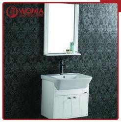 Woma 600mm en bois massif Salle de bains avec meuble-lavabo en céramique haut du bassin (3176A)