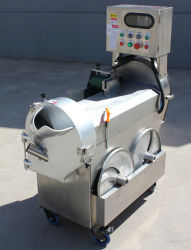 A raiz cúbica de eléctrico da máquina de picar vegetais/Picador Cortador de vegetais de folha/Comercial máquina de cortar vegetais Automática
