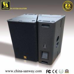 T24N Dual 12'' Bi-AMP/commutateur Passive enceinte de line array professionnel avec un excellent discours, haut-parleur pleine gamme