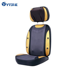 La chaleur Back Masseur Coussin de siège de voiture de pétrissage fauteuil de massage shiatsu