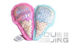 Design populares de sorvete de duas cores Moda Costura Almofadas Toy