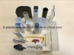 Perfil de PVC de extrusão de plástico e Tubos