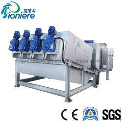 El Filtro Prensa Espesamiento de fangos de tipo tornillo de la máquina