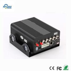 リアルタイム記録移動式手段DVRとの4 CH 1080P 3G 4G移動式DVR HDD WiFi