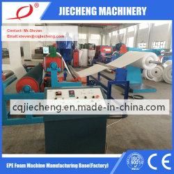Linea di produzione della pellicola di strato della gomma piuma di EPE fornitore di plastica dell'espulsione del macchinario dell'espulsore della macchina di Jc-220mm