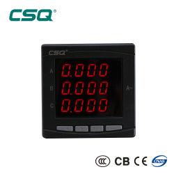 Tableau de bord numérique en trois phases de l'ampèremètre/ampère/AMP/compteur de courant