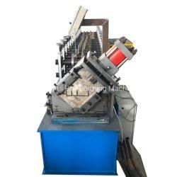 冷間圧延製造所CのプロフィールチャネルのFurringロール前の形成機械を散りばめさせる軽いキールに冷たい金属Cの母屋の鉄骨フレームCのプロフィール